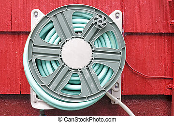 Hose on Reel