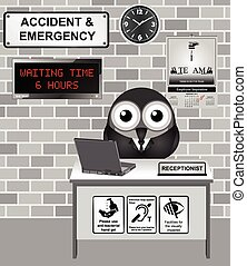 Hospital Accident and Emergency - Comical Hospital Accident...