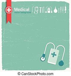 Hospital And Medicine Background