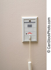 Hospital Emergency Call Switch - An emergency call pull...