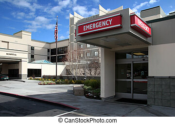 Hospital - Emergency room at the hospital