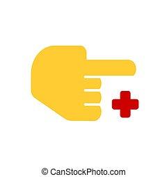 Hospital icon vector illustration isolated on white background