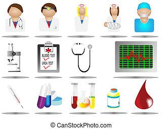 hospital icons,medical care icon se