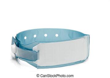 Hospital ID Bracelet - A brand new hospital patient ID...