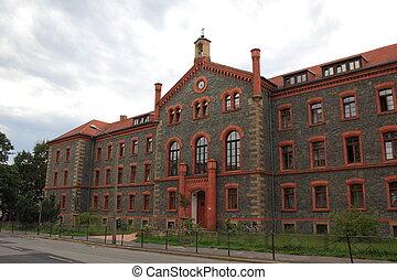 Hospital building in Goerlitz, Saxony, Germany