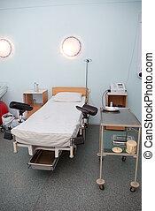 Hospital interior - modern delivery room