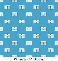 Hospital pattern seamless blue