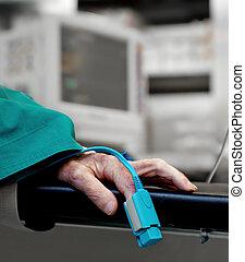 hospital pulse oxymeter