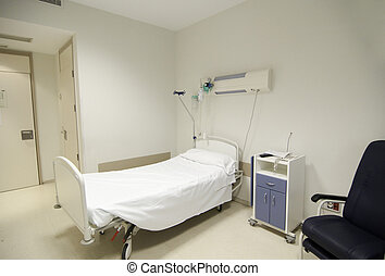 Hospital room�s picture from Spain, Europe.