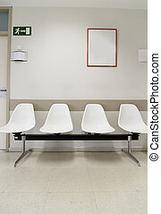 Hospital waiting room�s picture from Spain, Europe.