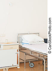 Hospital ward - Shot of hospital ward, interior, clean,...