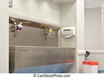 Hospital Wash Station