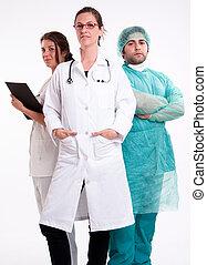 Hospital work team