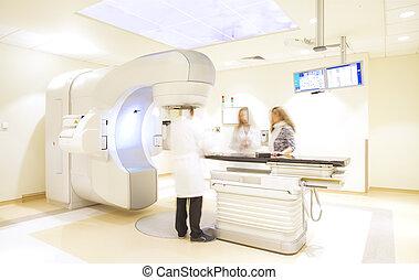 hospital x-ray scanner