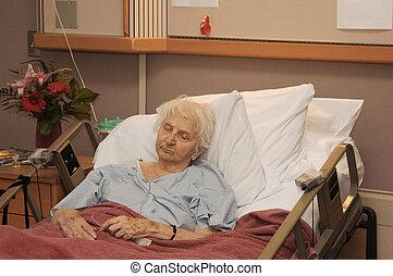 hospitalized, シニア