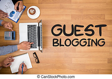 host, blogging