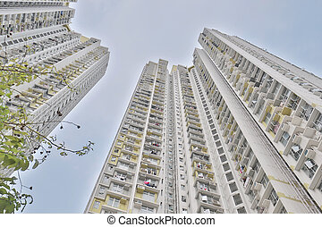 Hosue view at Shek Kip Mei hong kong - Hosuing view at Shek...