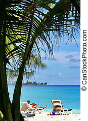 Hot Afternoon - View from Dover beach, Barbados. September.