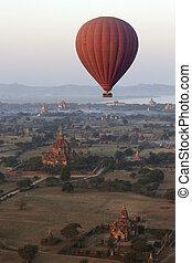 Hot Air Balloon - Bagan - Myanmar