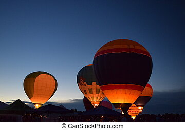 Hot Air Balloon Glow 3