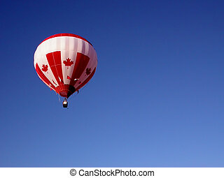 Hot air balloon - balloon