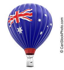 Balloon with Australian Flag