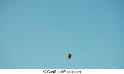 Hot air balloons aerostat
