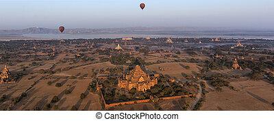 Hot Air Balloons - Bagan - Myanmar