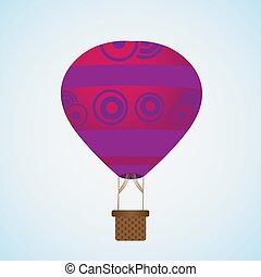 hot air balloons icon