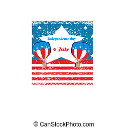 Hot Air Balloons of 4 of July