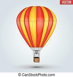 Hot Air Color balloon