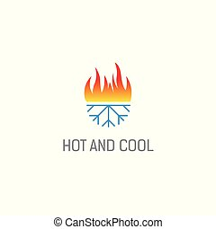 hot and cold logo