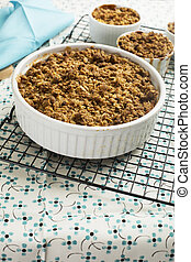 Hot Apple Crumble