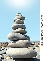 hot balanced rocks