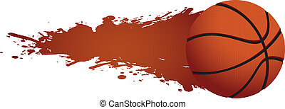 hot basketball