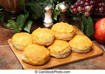 Hot Breakfast Biscuits