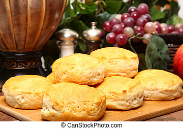 Hot Breakfast Biscuits
