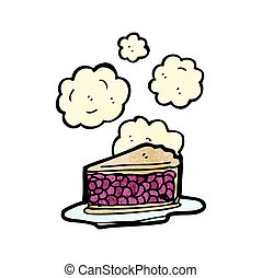 hot cherry pie cartoon