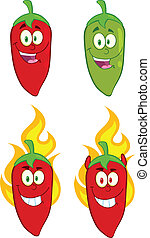Hot Chili Peppers Collection Set