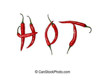 Hot - Chilis spelling hot