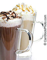 Hot chocolate and coffee beverages - Hot chocolate and ...