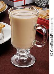 Hot chocolate at Christmas