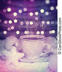 Hot Christmas tea