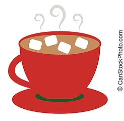hot cocoa stock illustrations 4 379 hot cocoa clip art images and rh canstockphoto ie christmas hot cocoa clipart hot cocoa cup clipart