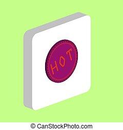 Hot computer symbol