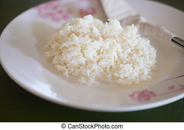 Hot cooking rice