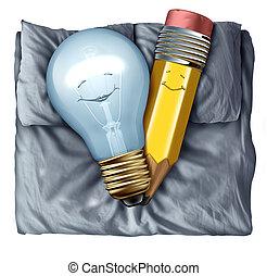 Hot Creative - Hot creative and creativity concept as a...