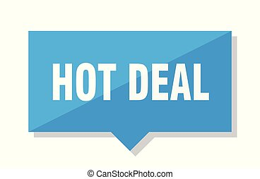 hot deal price tag