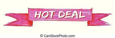hot deal ribbon