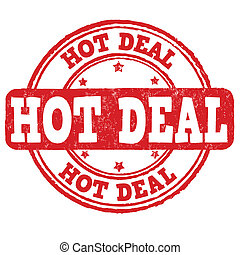 Hot deal stamp